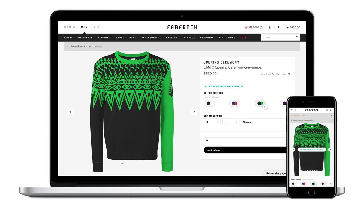 Opening Ceremony x UMd on Farfetch